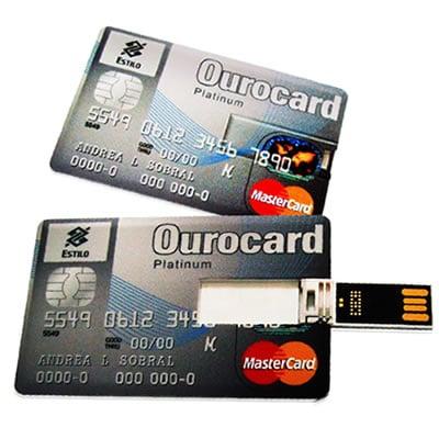 Pen Drive Cartão de Crédito